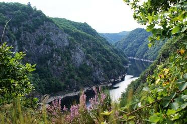 Gorges de la Dordogne gelegen in schitterende natuur