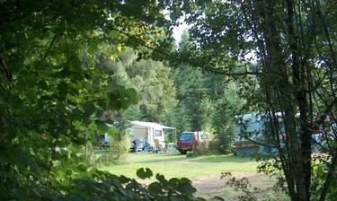 kleine groene camping frankrijk, camping chantegril