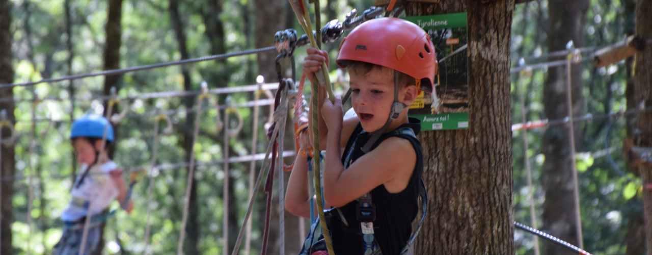 boomklimmen bij Parc Aventure