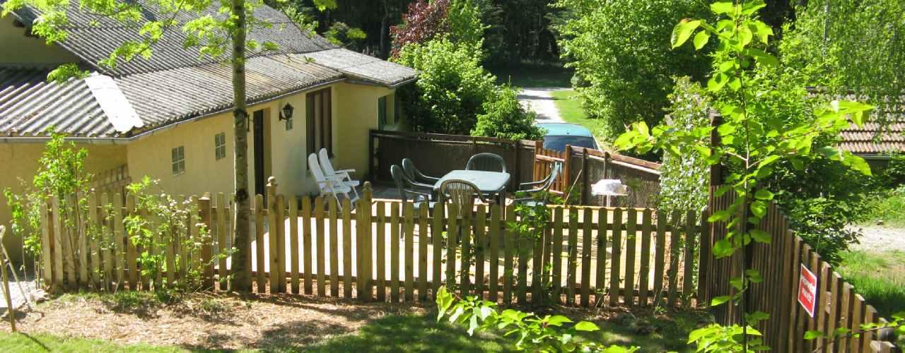 Bungalow op Camping Chantegril in Frankrijk