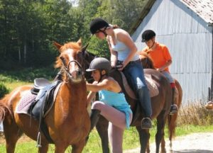 paardrijden in Neuvic