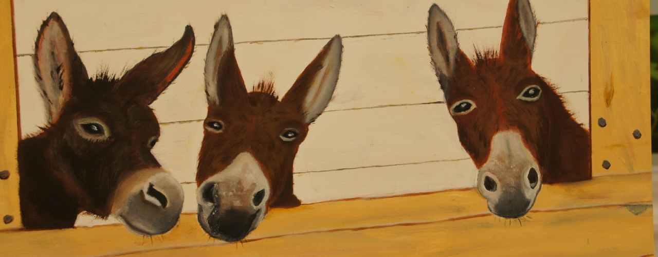 workshop schilderen bij Camping Chantegril
