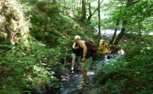 rivierwandelen een sportieve activiteit