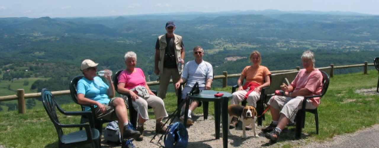 wandelen in Frankrijk vanaf Camping Chantegril