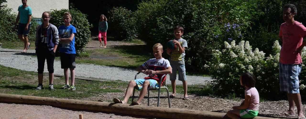 Petanque / Jeu de boules camping Frankrijk