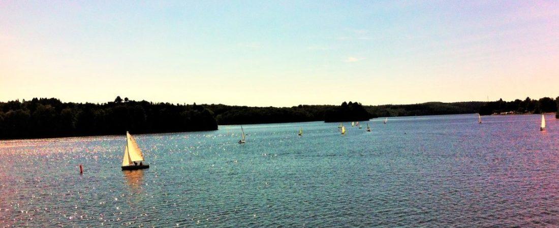 Lac de Neuvic, schitterende natuur in Frankrijk