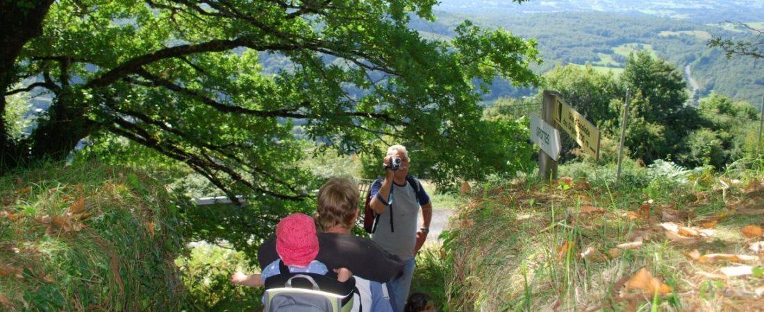Wandelweek in Juni bij Camping Chantegril circuit les Orgues